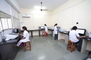 central instrumentation room